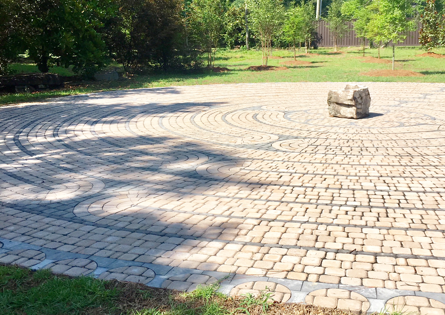 Pine Grove and the Forrest General Healthcare Foundation Dedicate Pine Grove's Meditative Labyrinth and Fire Circle