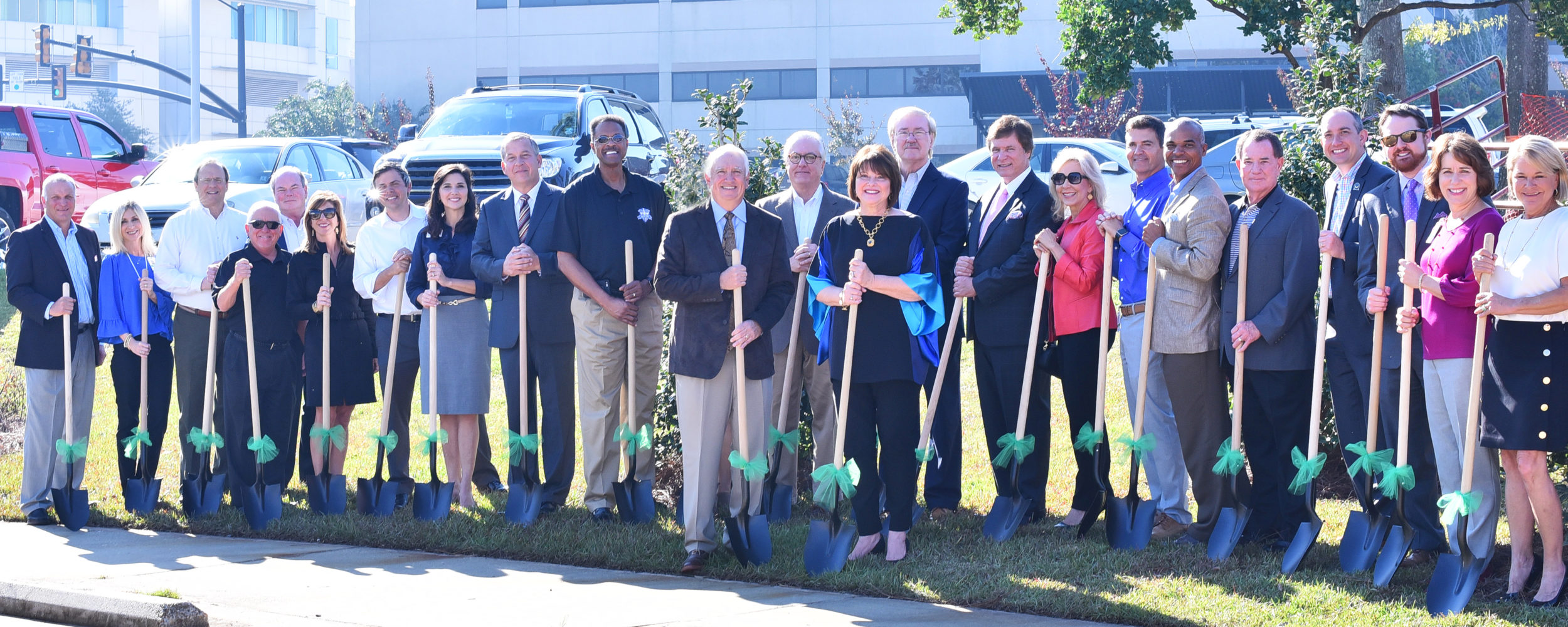 Forrest General Healthcare Foundation and Forrest General Hospital Host Ground Breaking Ceremony for Becky and Bill Oliver Healing Garden
