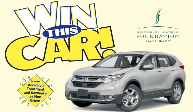 Win This Car! - Forrest General Healthcare Foundation